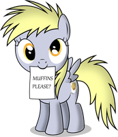 Filly Derpy by NotLikelyAnArtist