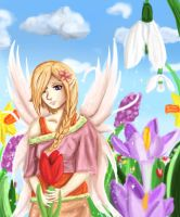 Spring Fairy by CubieKelly
