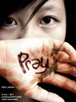PRAY4JAPAN by yoika