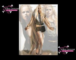 Avril Wallpaper 02 by Synntheticangel