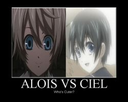 Ciel vs Alois: Who's cuter? by Ally-Blackstar