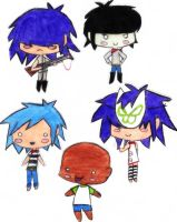 Chibi-rillaz by Holli-Is-Sexi
