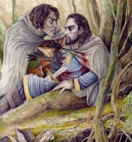 The Death of Boromir II by peet