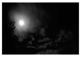Full Moon Flash by KJH-Photography