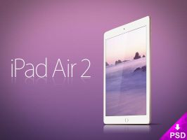 Apple iPad Air 2 Mockup by thislooksgreat