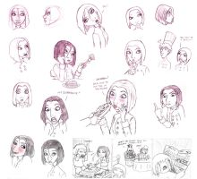 Colette Sketches by Aphius
