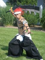 Renji from Bleach by EndOfGreatness
