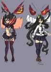 Ryuko and Filia by TheSsssFactor