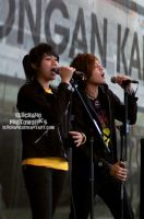 Duo Virgin as BAcking vocal by eluchano
