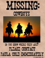 Missing Cowboys by cynfullpryde