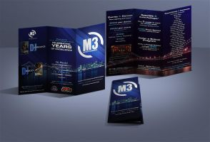 M3 Entertainment Promo Brochure by yellow-five