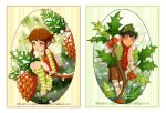Pine and Holly Fairies by Dalliann