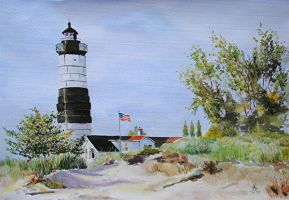Big Sable lighthouse by Buble