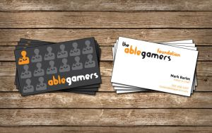 AbleGamers Business Card by zero-cash