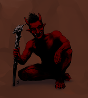 Me as an Oni by MudLobster