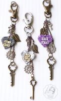 Custom Key chains by colourful-blossom