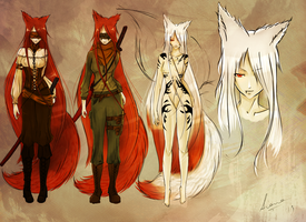 Project: Kitsune by OriharaAiane