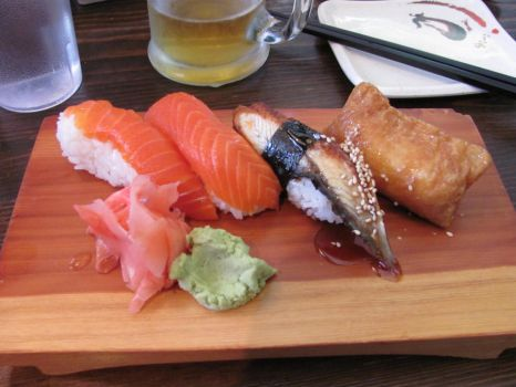 Sushi Plate by FortheBananna