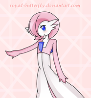 Pink Gardevoir by Royal-Butterfly