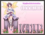 Com.07 -Mich3ll3-Graphic by Luvelia