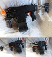 Ultimate Stryfe SMG WIP by MarcWF
