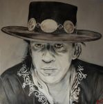 Stevie Ray Vaughan by gavcam