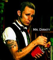Mike Dirnty the Bartender by BuiltToFail