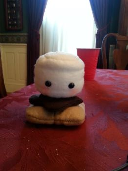 Smores Plush by Magic-Heart-Plushies