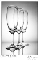 Champagne Glass by eugenedeloyola