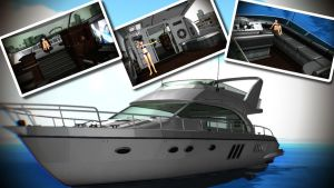 Luxury Cruiser Yacht for MMD by cargraP