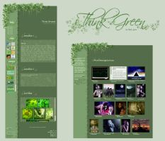Think Green Journal + Gallery by BaB-Jane