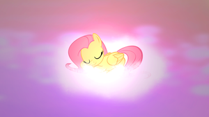 Sleepy shy by EquestrianDeviants