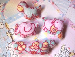 Baby animals accessories by VioletLunchell