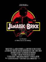 Jurassic Brick - A Steven Spielbrick Film - Poster by LavaLampCreative