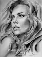 Charlize Theron by michimao