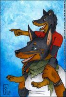 ACEO for Sonny by kataviech