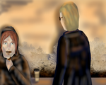 Wesker Meets Mary by MysticaQueen