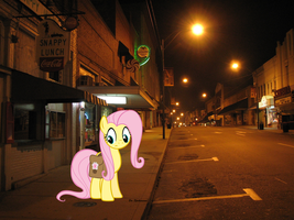 Fluttershy Is Out There... by Captainwindex