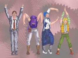 Club Airly as The Village People? by ryuusei86
