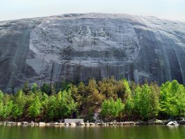 Stone Mountain 7 by Dracoart-Stock
