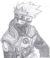 Kakashi Reading by S-Newman