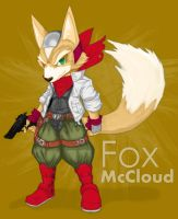 Cel Shaded: Fox McCloud by lbenologa
