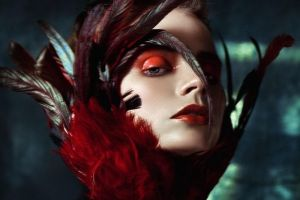 Fire orchid by Avine