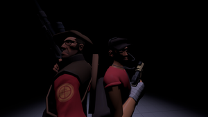Sniper and scout by TheUltimateCogGear