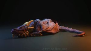 Dragon FreeRender 01 by MikeMS