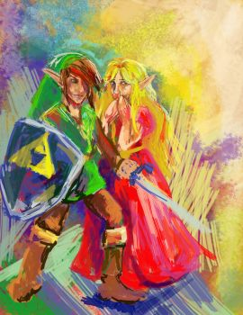 Old School Zelda by SuzetteRGreinwich