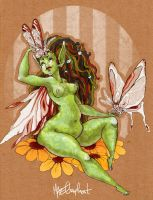 Autumn Vine, Mistress of moths by harusame