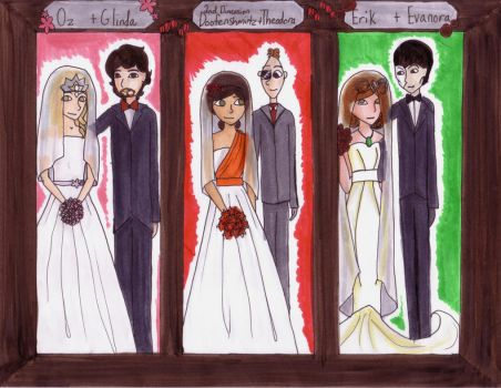 Oz the Great and Powerful Wedding by Bigsisnat533
