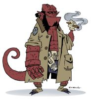 hellboy by ATLbladerunner