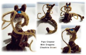 Fuzzy lil dragons- Cheshire Br by Eclpsedragon